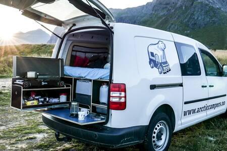 Mini Camper in Lofoten - Ramberg