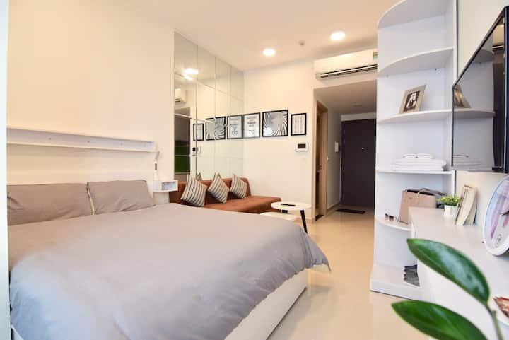 Chau Apartment - Netflix,FREE Pool Gym - Ben Thanh