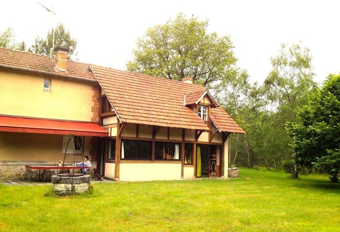 Maison au milieu des bois - Pierrefitte-sur-Sauldre - Dom