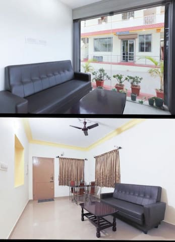 common areas and room