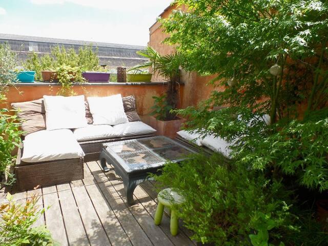Triplex terrasse au coeur de Bordeaux - Bordeaux - Loft