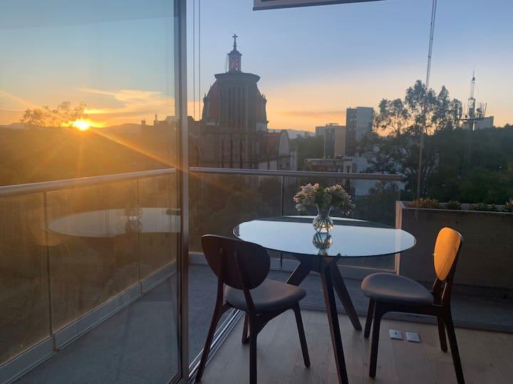 Suite de lujo con la mejor vista de Mexico