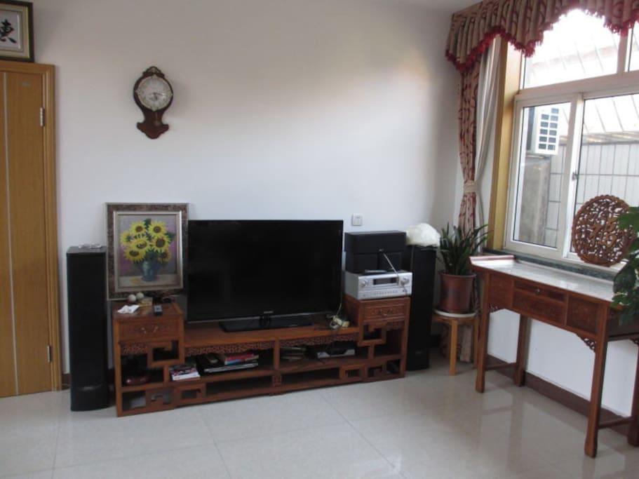 客厅是中式家具