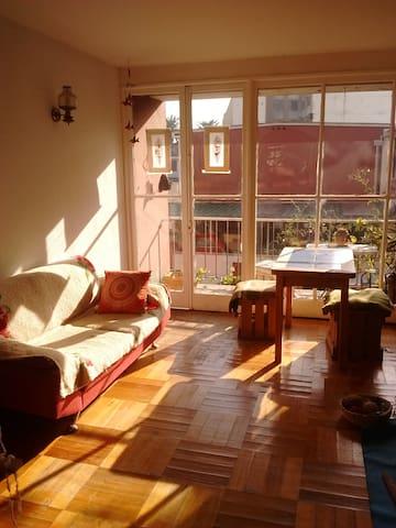 Habitación privada.Bellavista.Cerca de Neruda's ho