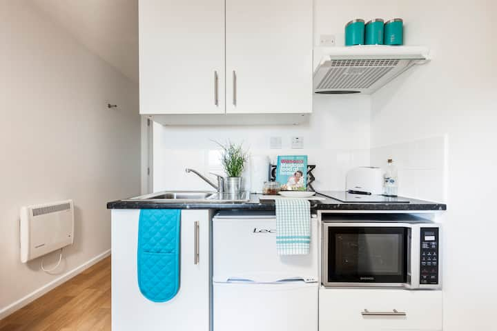 Double Room with Self-contained Kitchenette in Hammersmith / Shepherds Bush, London