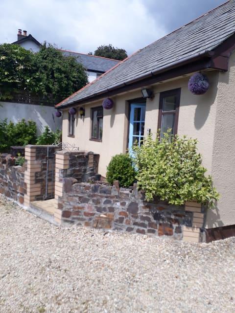 Cottage on north Devon coast