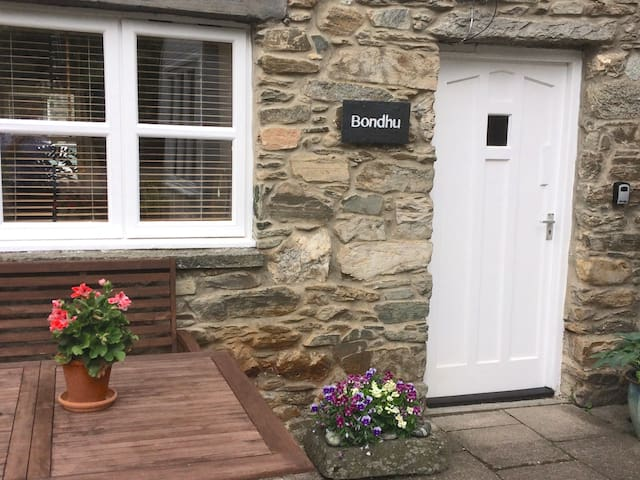 Traditional stone built cottage in Aberfeldy