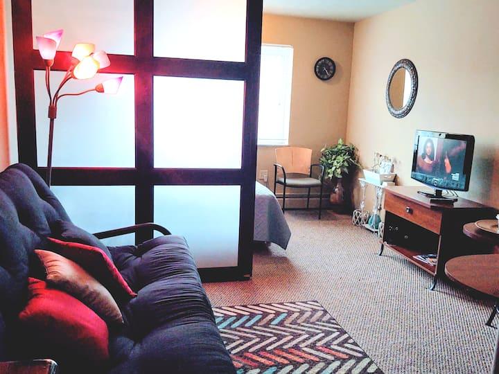 Cozy Studio Apt near Downtown & Cleveland Clinic