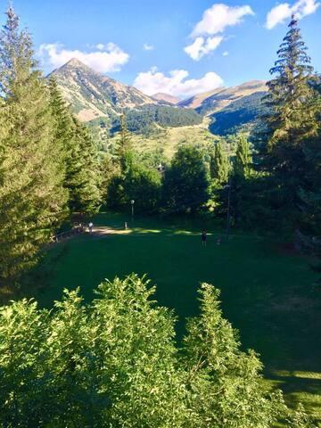 Apartamento con vistas a las pistas de esquí de Cerler.