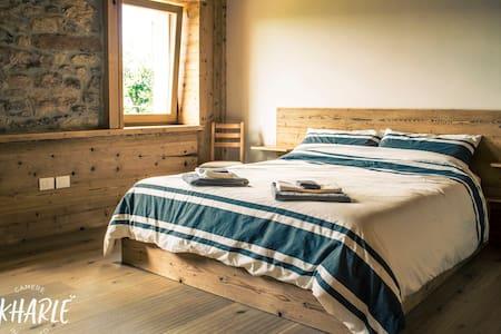 Ekharle - Cosy family bedroom - Rustic wood style
