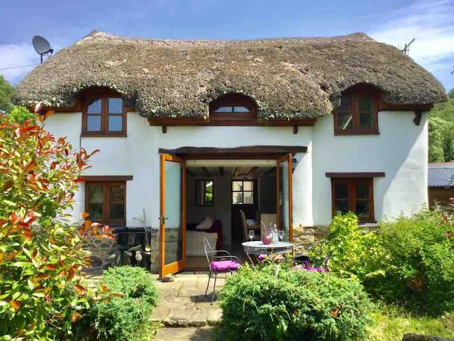 3 Bed Thatched cottage on the edge of Dartmoor.