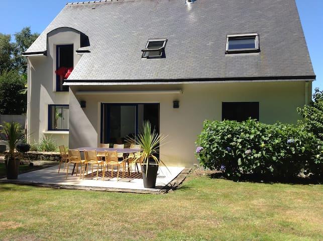 maison individuelle au calme avec spa privatif - Kervignac - Appartement