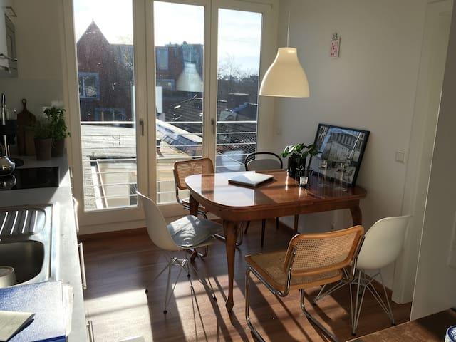 Helle, zentrale Wohnung - gemütlich und modern - Münster - Leilighet