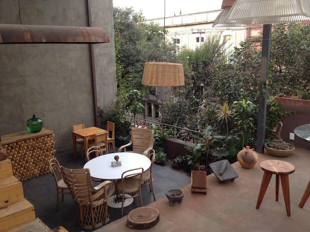 Secret Garden Penthouse in central CDMX - เม็กซิโกซิตี้ - บ้าน