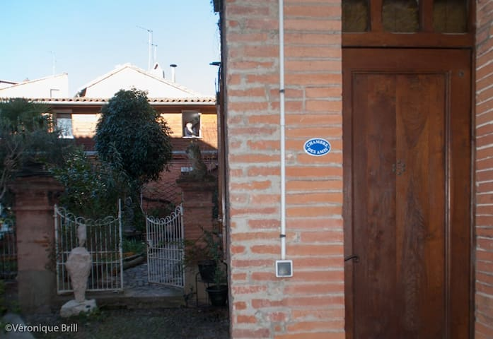 L'entrée et la proximité du jardin