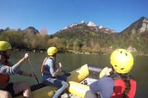 Discover Dunajec river  by rafting with us.