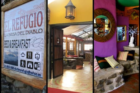 Refugio la Brisa del Diablo B&B (Bedroom *2 Suite) - Bed & Breakfast