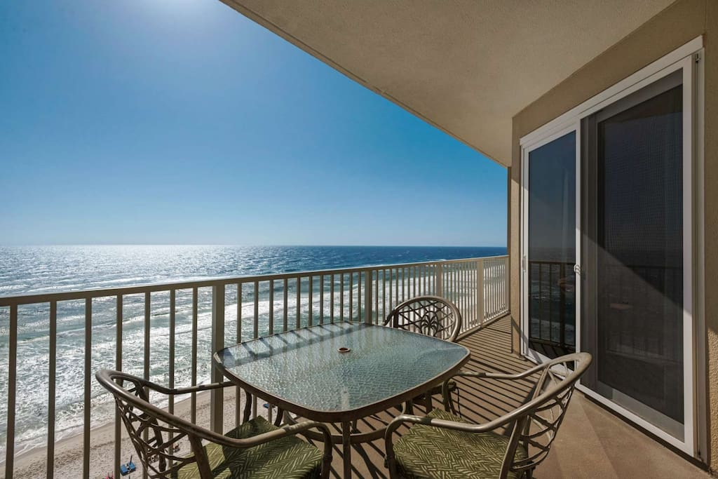 Dine on the Gulf View Balcony!