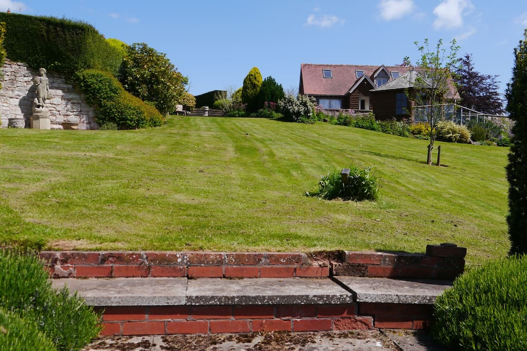 View of Coach House from the garden