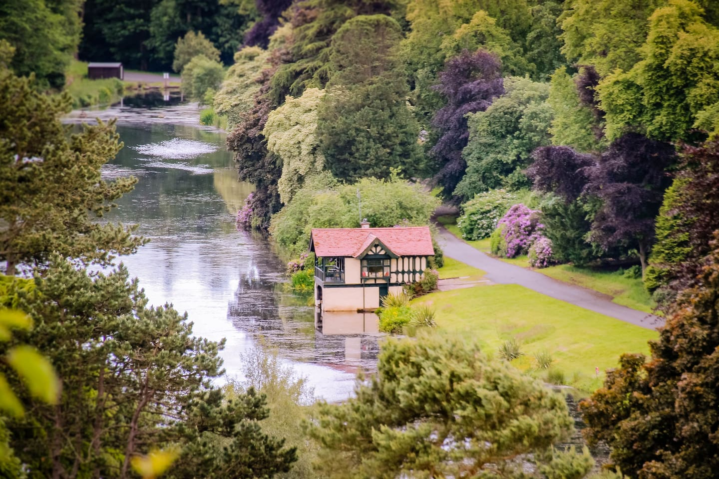 The Boathouse on the loch