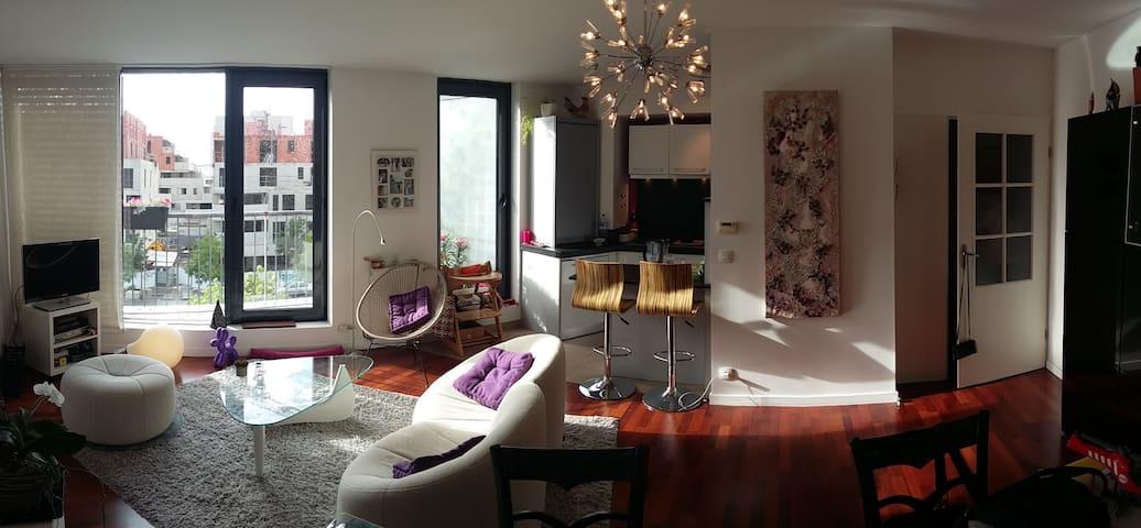 Bordeaux Centre appt terrasse 2 Pers (75m2+30m2)