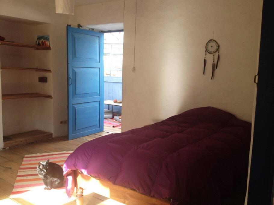 Room with single room