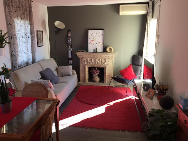 Cozy penthouse 15 min Barcelona - Valldoreix - Appartement