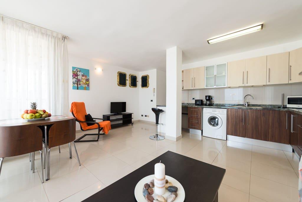 Primeria linea canteras 1b apartamentos en alquiler en las palmas canarias espa a - Apartamentos baratos en las canteras ...