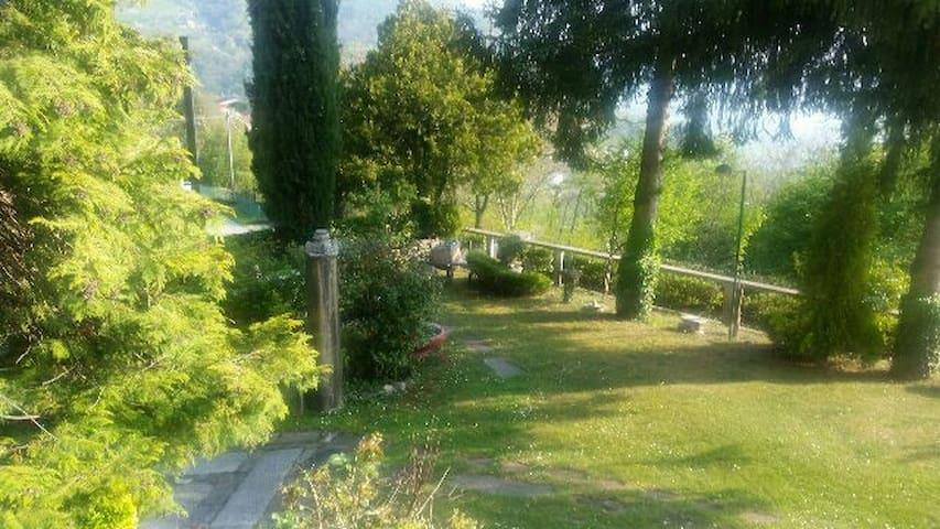 Appartatamento in villa lago di Lecco