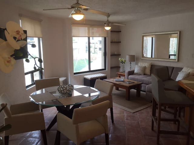 Lovely and Cozy 2Bd/2Bth Condo (up to 6 people) - San José del Cabo - Apartamento