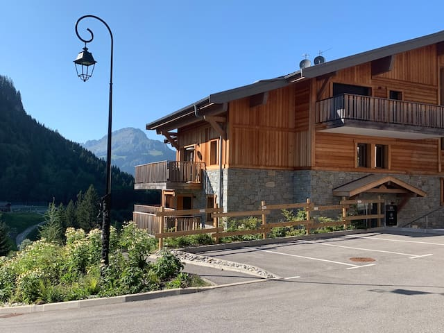Magical mountain apartment in amazing Châtel