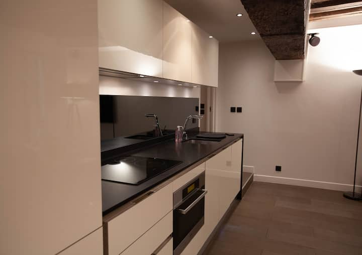 Appartement design au cœur du Marais