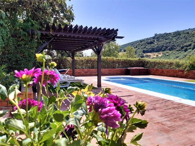 Andalusian Country Retreat with a Pool