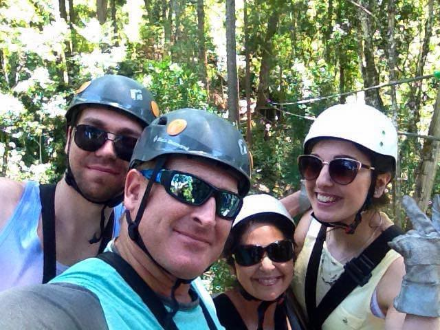 Fun at Tsitsikamma Canopy Tree Top Tours - get 10% discount
