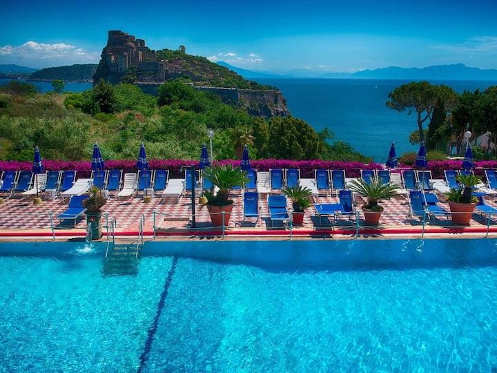 Hotel Parco Cartaromana   con 3 piscine