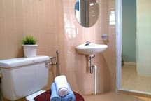 Bathroom 2 ~ basin and water closet