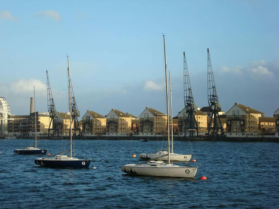 Royal Victoria dock