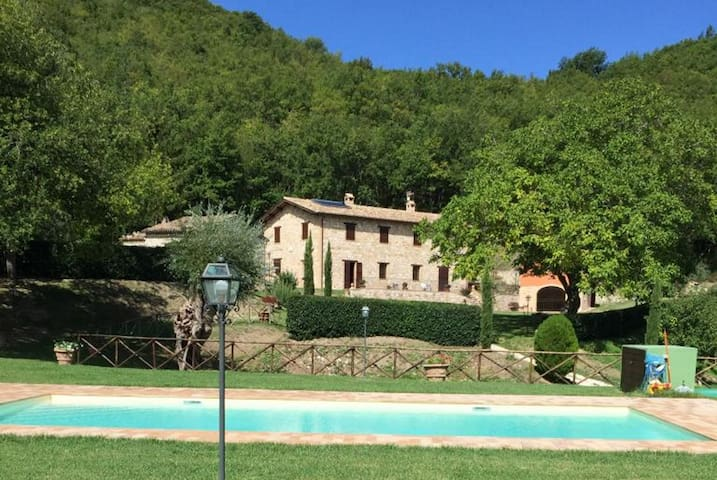 Villa il Noce, with private pool