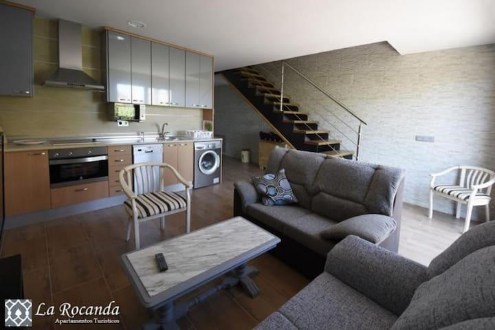 Apartamento La Rocanda A - Coca - Flat