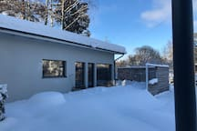 Now it is winter and we have lot of snow !