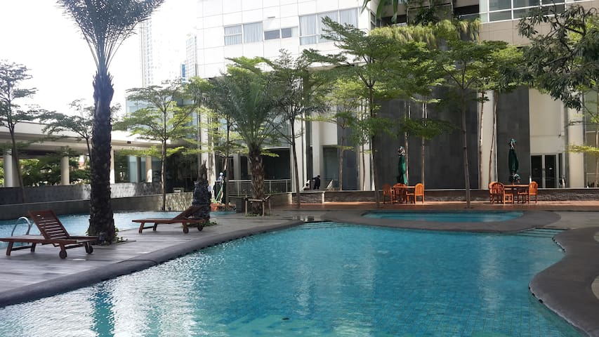 Modern apartment (1Park) in South Jakarta