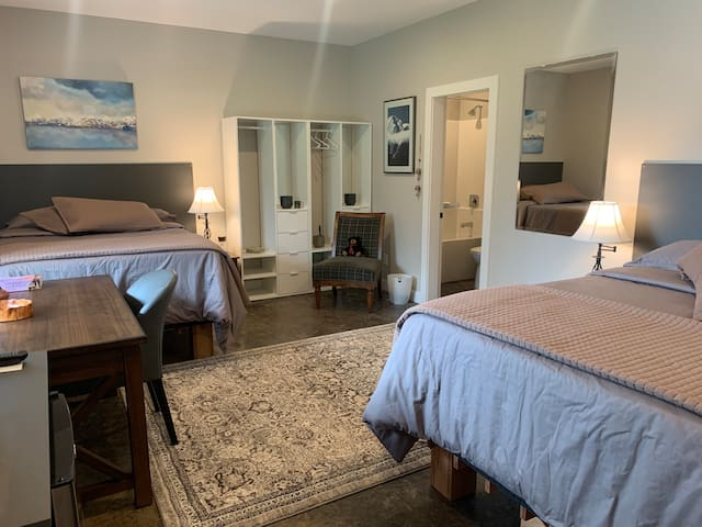 Mountain double guestroom