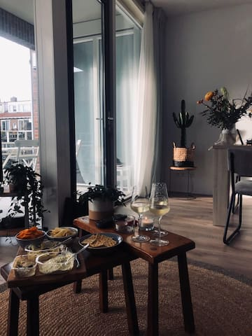 Lovely apartment in the city center of Utrecht