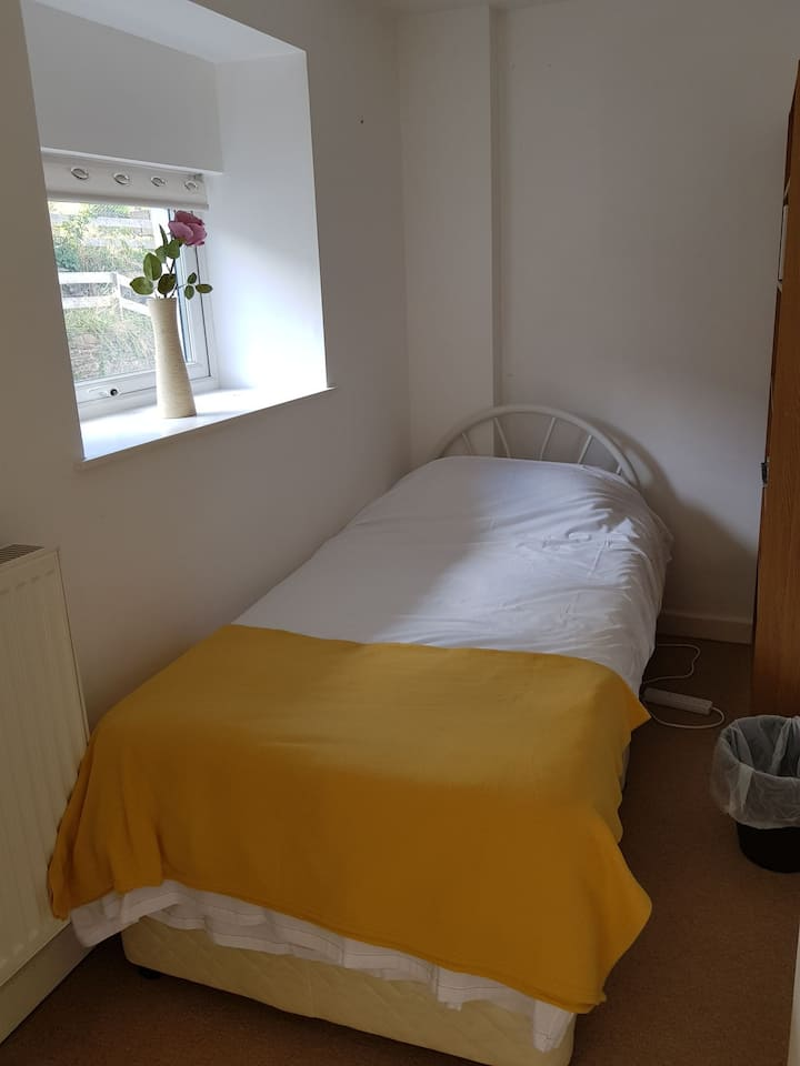 Single room, situated in a lovely small village.