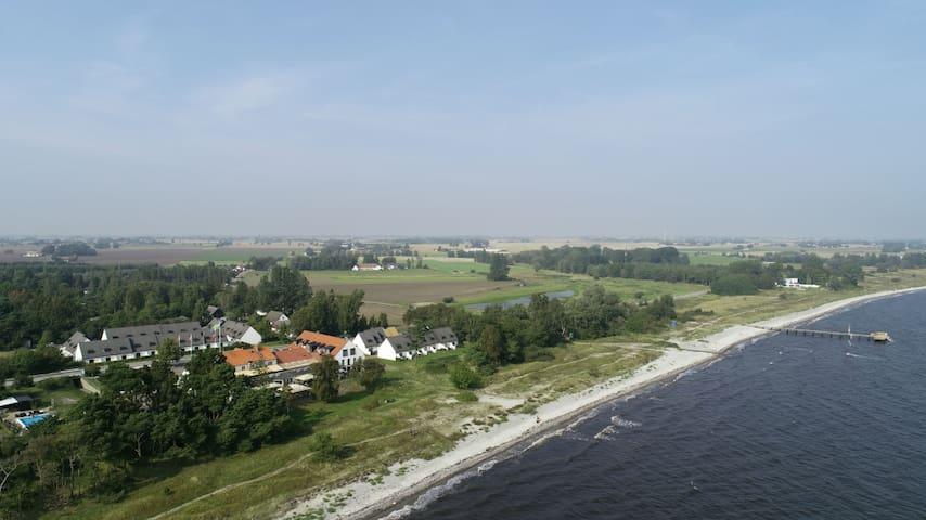 Havsnära eget hus, Smygehus, sydkusten i Skåne