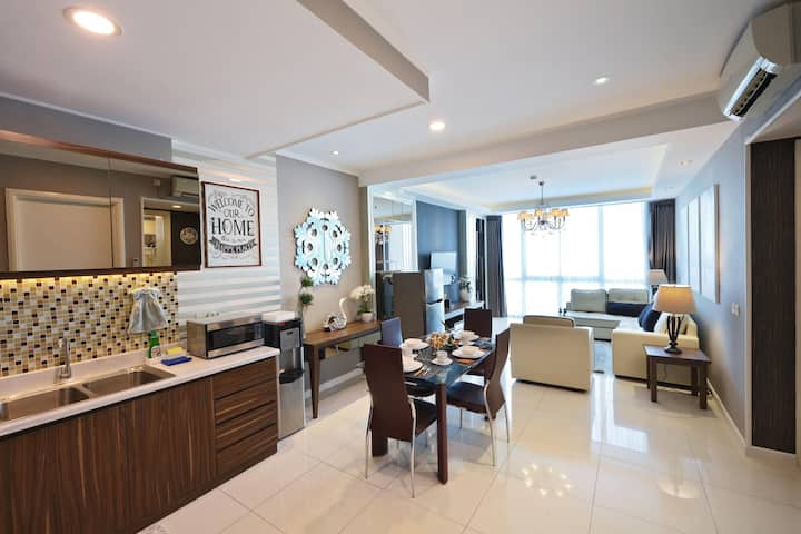 Elegant Contemporary@Ciputra World Surabaya(95sqm)