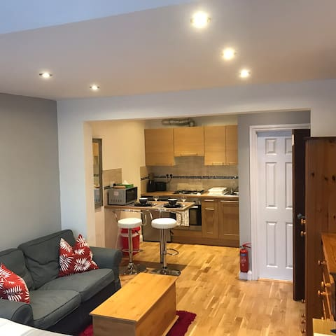 Studio flat in North London
