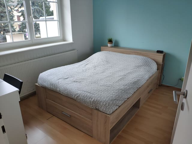 Chambre double privée proche Luxembourg