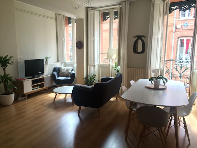 Appartement 3 pièces Plein centre - Toulouse - Appartement
