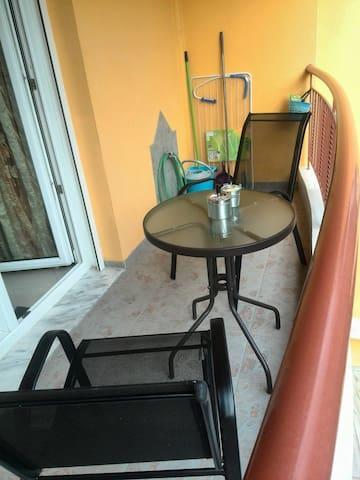 Balcony-Smoking area